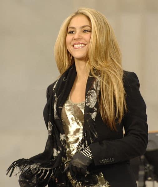 Shakira Madrid